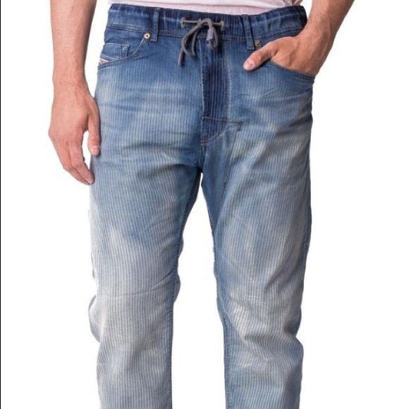 8b8a8477 Diesel Jeans | Narrot Stripped Ne Jogg Sweat 34 | Poshmark